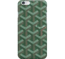 Goyard Green iPhone Case/Skin