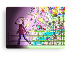 Music and imagination is all I need Canvas Print