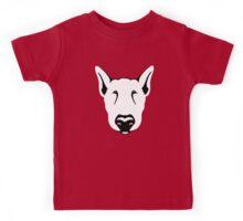 Bull Terrier Head Graphic  Kids Tee