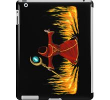 Magicka, Wizard with fire spell iPad Case/Skin