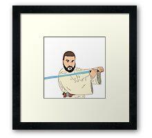 Jedi Khaled Framed Print