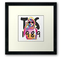 Taylor Swift 1989 Cover  Framed Print