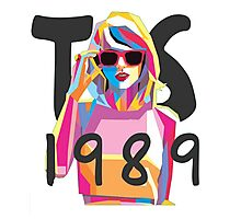 Taylor Swift 1989 Cover  Photographic Print