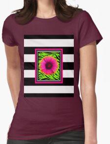 Pink & Green Wild Child Flower T-Shirt