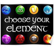 Magicka, choose your element (4x2) Poster