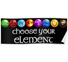 Magicka, choose your element (8x1) Poster