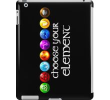 Magicka, choose your element (8x1) iPad Case/Skin