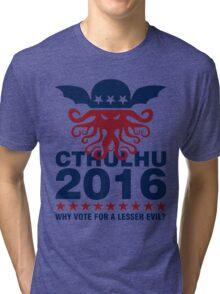Cthulhu For 2016 Tri-blend T-Shirt