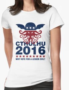 Cthulhu For 2016 Womens Fitted T-Shirt