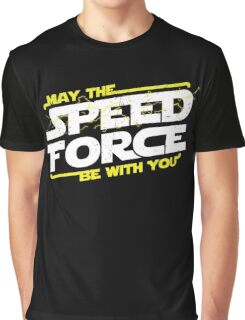 May The Speed Force Be With You Graphic T-Shirt