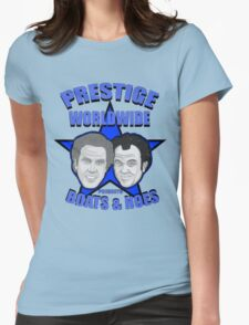 Prestige worldwide presents boats & hoes Womens Fitted T-Shirt