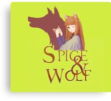 Spice and Wolf 1 Canvas Print
