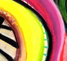 Pastel Painting 16 Sticker