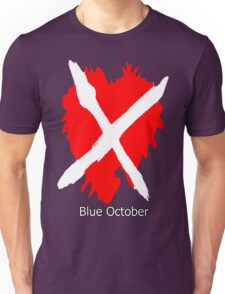 Blue October the Home Tour 2016 2 Unisex T-Shirt