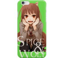 Spice and Wolf 2 iPhone Case/Skin