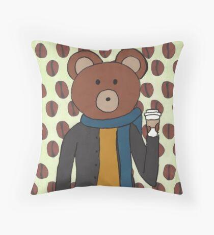 Theodore BEANZ Throw Pillow