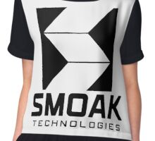 Smoak Technologies - Star City 2046 Chiffon Top