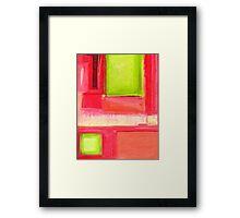 Pastel Painting 19 Framed Print