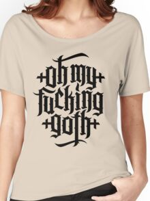 Oh my fucking goth / OMFG No.2 (black) Women's Relaxed Fit T-Shirt