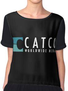 CatCo WWM Chiffon Top