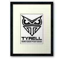 Blade Runner - Tyrell Corporation Logo Framed Print