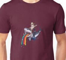 Bucking Sharkaroo Puking Rainbow Unisex T-Shirt
