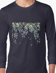 Blue Blossoms Long Sleeve T-Shirt