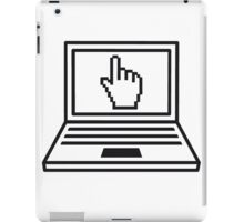 hand click mouse cursor computer laptop notebook pc write screen mobile tablet iPad Case/Skin