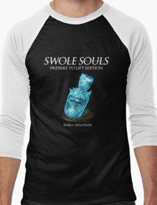 Swole Souls - Prepare to Lift Men's Baseball ¾ T-Shirt