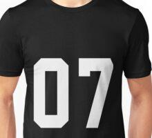 Team Jersey 07 T-shirt / Football, Soccer, Baseball Unisex T-Shirt