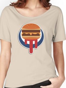 Burger Shot Women's Relaxed Fit T-Shirt