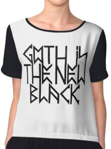 Gothic is the new black No.2 (black) Chiffon Top