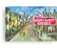 Wonderland Avenue Canvas Print