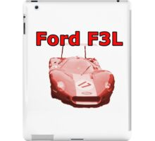 Ford F3L 1968 Sports Racing Prototype iPad Case/Skin