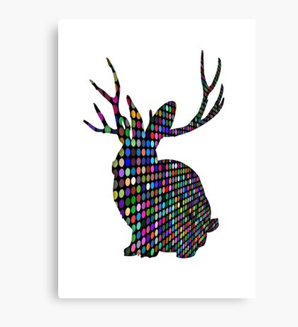 The Spotty Rabbit Canvas Print