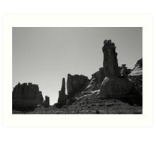 Arches NP XII BW Art Print