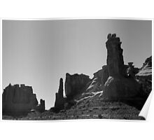 Arches NP XII BW Poster