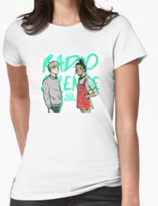 Aled and Frances Womens Fitted T-Shirt