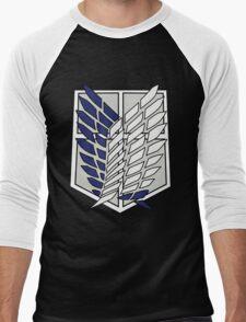 attack on titan Men's Baseball ¾ T-Shirt