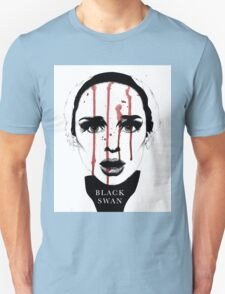 Black Swan Illustration Unisex T-Shirt