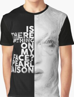 Pearl Liaison Text Portrait Graphic T-Shirt
