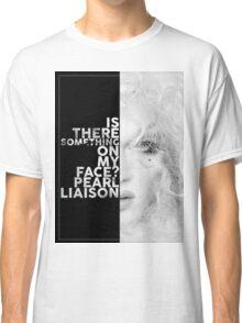 Pearl Liaison Text Portrait Classic T-Shirt