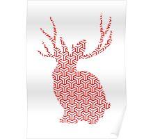 The Pattern Rabbit Poster