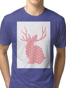 The Pattern Rabbit Tri-blend T-Shirt