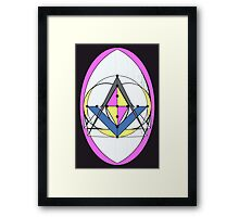 THE COMPASS THE PYRAMID AND THE EGG 1 Framed Print