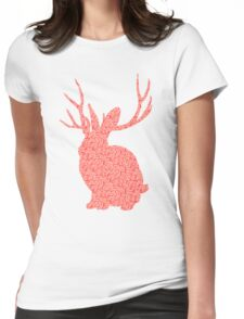 The Brains Rabbit Womens Fitted T-Shirt
