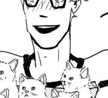 Box of Kittens (plus Michael) Sticker