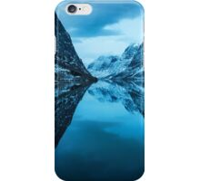 Mirroring The Blue Hour iPhone Case/Skin