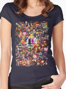Smash Brothers Women's Fitted Scoop T-Shirt
