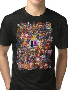 Smash Brothers Tri-blend T-Shirt